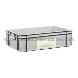 Plastic box 600x400x170/160 mm
