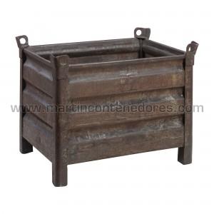Steel box 800x600x600/470 mm