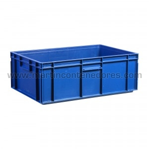 Plastic box 600x400x220/215 mm