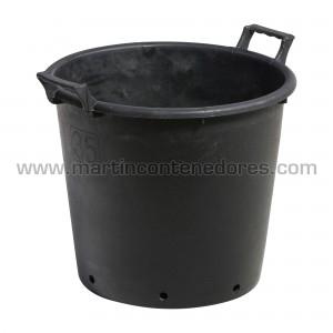 Vaso de plástico 35 litros