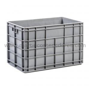Plastic box 600x400x400/380 mm