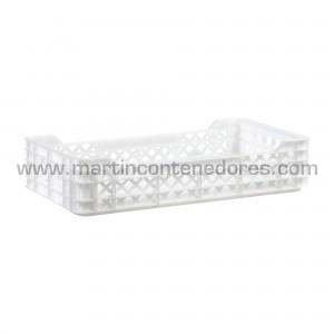Perforated plastic box...