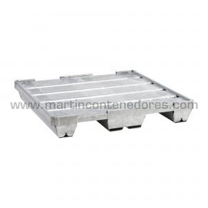 Steel pallet 1080x1080x160 mm