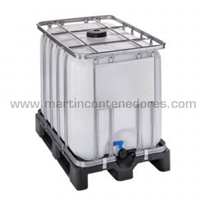 IBC 600 litros palet plástico