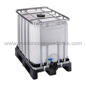 IBC 600 litros palet plástico ADR