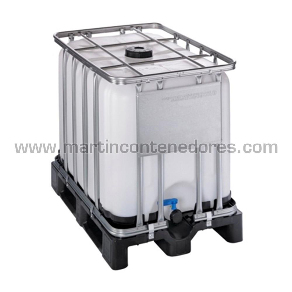 Deposito IBC 600 litros palet plástico ADR