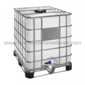 Contenedor GRG-IBC capacidade de carga de 1000 litros