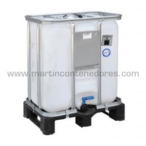 IBC 300 litros palet plástico ADR