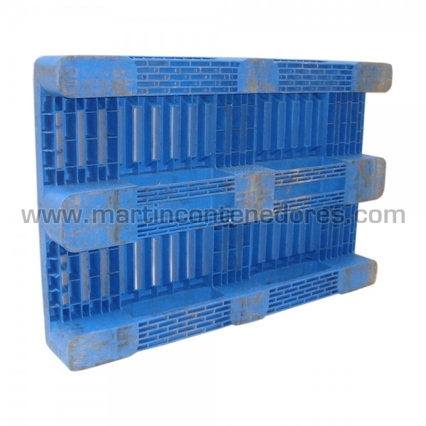 Palet plástico fabricado en HDPE virgen