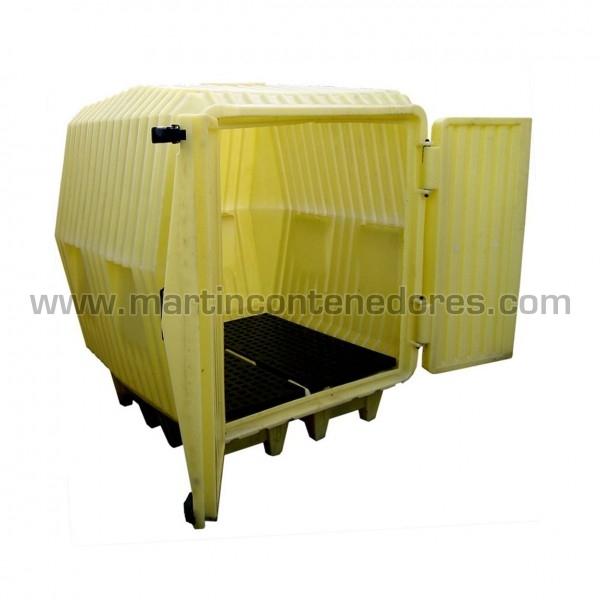Cubetas Antiderrame Capacidad de retención de 275 litros