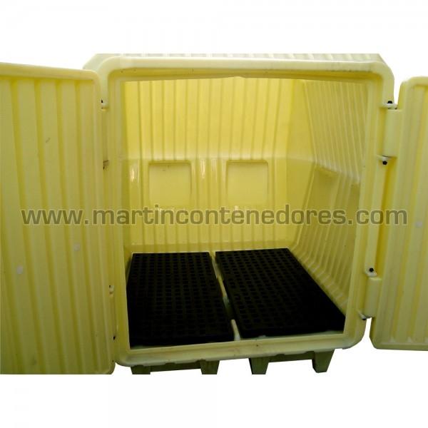 Cubetas Antiderrame fabricado en polietileno usado
