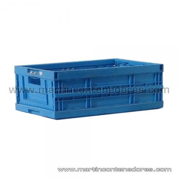 Bacs plastiques pliables et empilables