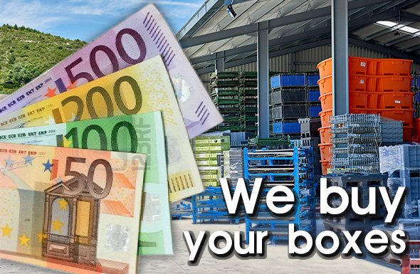 We buy your boxes