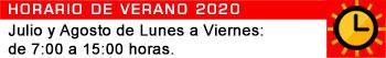 Horario de Verano 2020