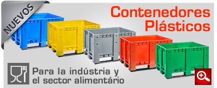 contenedores plasticos para la industria