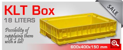 Sale KLT box plastic 18 liters