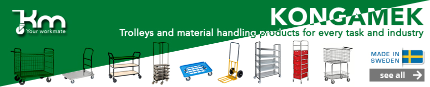 Kongamek – Your workmate trolleys and material handling products
